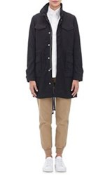 Vis A Vis Canvas Field Jacket Black