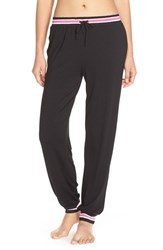 Women's Dkny Jersey Jogger Pants Black