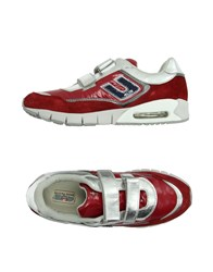 Cesare Paciotti 4Us Footwear Low Tops And Trainers Women Red