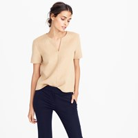 J.Crew Pre Order Collection Double Faced Cashmere Top