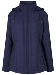 Four Seasons Quilted Jacket Navy