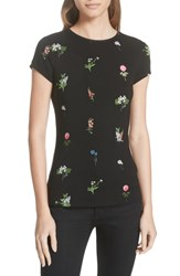 Ted Baker London Roobey Florence Fitted Tee Black