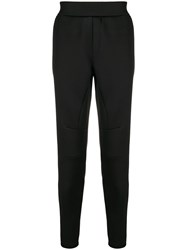 Plein Sport Loose Fitted Trousers Black