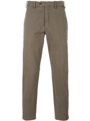 Neil Barrett Classic Chinos Brown