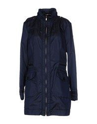Dek'her Coats And Jackets Jackets Women Dark Blue