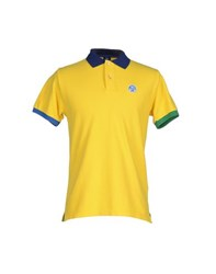 North Sails Topwear Polo Shirts Men Yellow