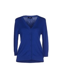 Relish Knitwear Cardigans Women Blue