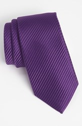 Men's David Donahue Woven Silk Tie
