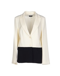 Max And Co. Blazers Ivory