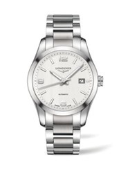 Longines Conquest Classic Stainless Steel Watch No Color