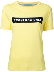 Guild Prime 'Front Row Only' T Shirt Yellow And Orange