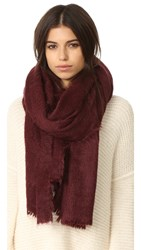 Free People Koda Brushed Scarf Plum