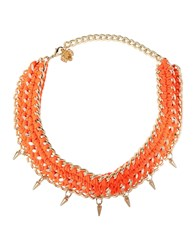 Francesco Scognamiglio Necklaces Orange