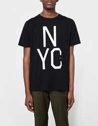 Saturdays Surf Nyc Slab Tee In Black