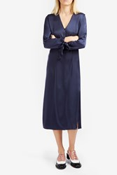 Elizabeth And James Bradock Dress Navy