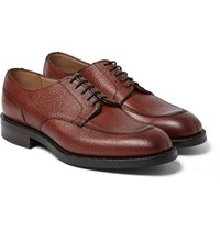 Cheaney Leather Derby Shoes Brown
