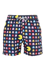 Mc2 Saint Barth Gustavia Pacman Micro Fiber Swim Shorts