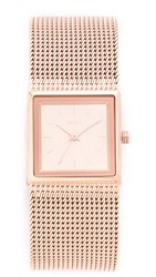 Dkny Stonewall Watch Rose Gold