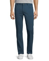 Penguin Straight Leg Twill Pants Teal