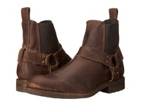 Frye Stone Harness Chelsea Espresso Polished Stonewash Men's Pull On Boots Brown
