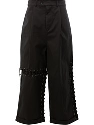 Craig Green Laced Loose Fit Trousers Black