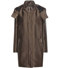 Moncler Gamme Rouge Down Coat Green