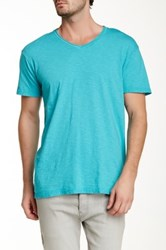 Cohesive And Co. Madden V Neck Short Sleeve Shirt Green
