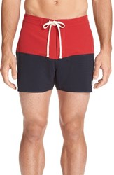 Saturdays Surf Nyc Men's Ennis Colorblock Swim Shorts