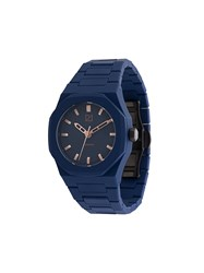 D1 Milano Essential Watch Polycarbonite Blue