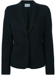 Akris Fitted Blazer Black