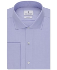 Ryan Seacrest Distinction Non Iron Slim Fit Solid French Cuff Shirt Sky Blue