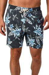7 Diamonds Guana Swim Trunks Black