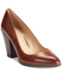 Kenneth Cole Reaction Spurk Le Pumps Women's Shoes Luggage