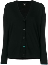 Paul Smith Ps By Classic Buttoned Cardigan Black