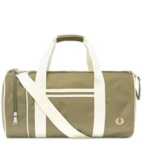 Fred Perry Authentic Twin Tipped Barrel Bag Green