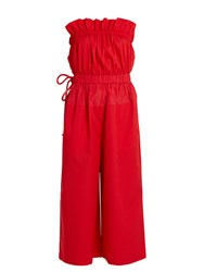 Sportmax Ughetta Jumpsuit Red