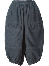 Rundholz Cropped Balloon Trousers