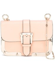 Red Valentino Chain Strap Shoulder Bag Pink Purple