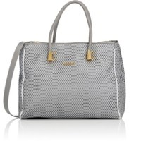 Just Cavalli Women's Perforated Tote Grey