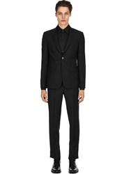 Givenchy Wool And Mohair Blend Suit Black