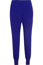 Stella Mccartney Julia Cady Track Pants Royal Blue