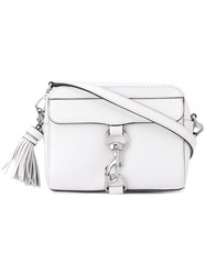 Rebecca Minkoff 'M.A.B' Camera Bag Women Leather Polyester One Size White