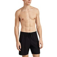 Saturdays Surf Nyc Ritchie Tech Taffeta Shorts Black