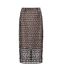 By Malene Birger Anastatia Lace Pencil Skirt Black