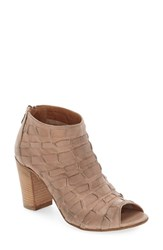Cordani Women's 'Belson' Leather Bootie Toffee Leather
