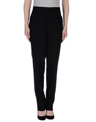Biancoghiaccio Trousers Casual Trousers Women Black