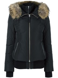 Mackage Zip Up Puffer Jacket Black