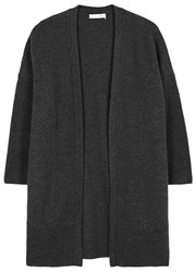 Rag And Bone Dee Charcoal Wool Cardigan