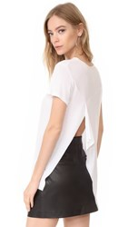 Cheap Monday Intention Top White