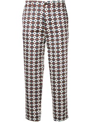 Berwich Chicca Trousers Blue